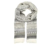 Schal 'osanna1' beige / grau