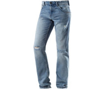 'Aedan Slim Fit' Jeans Herren blue denim