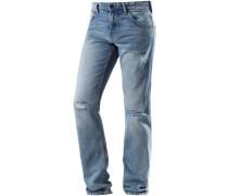 'Aedan Slim Fit' Jeans Herren blue denim
