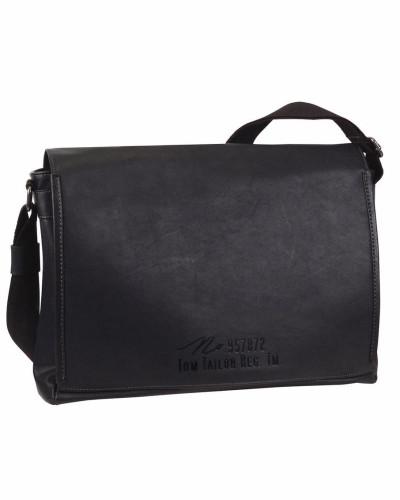 Tom Tailor Herren Messenger Bag 'kenny' schwarz