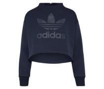 Cropped Sweatshirt dunkelblau