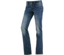 GretaTZ Bootcut Jeans blau
