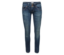 Stretchige Skinny Jeans 'Molly' blau