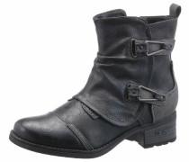 Shoes Westernstiefelette dunkelblau / schwarz