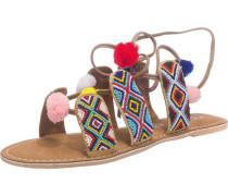 Sandaletten mischfarben