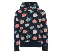 Pullover 'Blümchen Sweater' navy / mischfarben