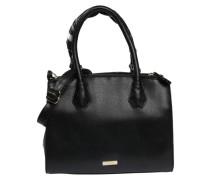 Handtasche 'Doavia' in Leder-Optik schwarz