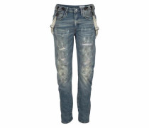 Boyfriend-Jeans 'Arc Braces 3D' blue denim