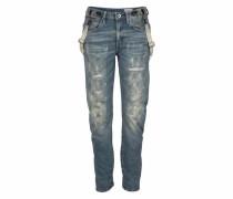 Boyfriend-Jeans »Arc Braces 3D« (Set 1 tlg. mit Hosenträgern) blau