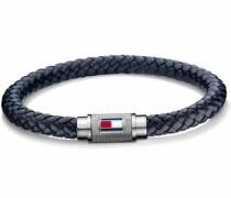 Armband 'Casual Core 2701000' dunkelblau / silber