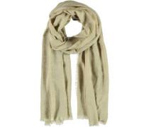 Viskose-Leinen Schal braun