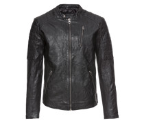 Lederjacke 'jjvrichard Lamb Leather Jacket Noos'