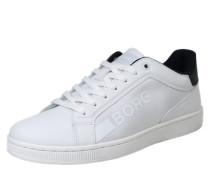 Sneaker im Tennis-Style weiß