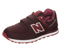 'kv574-F2Y-M' Sneaker Kinder rot / weinrot