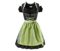 Dirndl (3tlg.) grün / schwarz