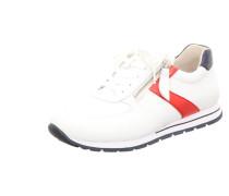 Sneakers weiß / dunkelblau / rot