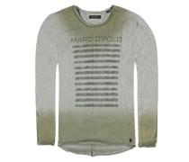 T-Shirt grau / grün