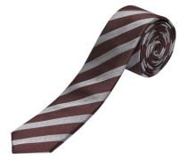 Seiden Krawatte dunkelrot