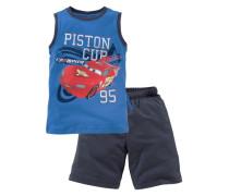 Cars Top & Bermudas Piston CUP (2-tlg.) für Jungen blau