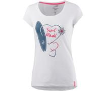 T-Shirt Damen weiß