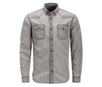 Western Langarmhemd grey denim