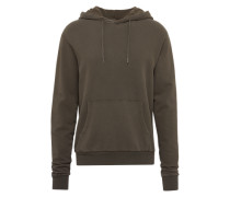 Pullover 'washed Hoody' khaki