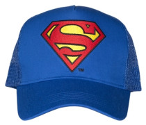 Trucker Cap - Superman – Logo blau
