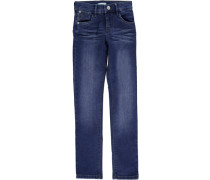 Nitada Super Slim Fit Jeans blau