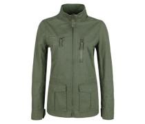 Twill-Jacke mit großen Taschen khaki