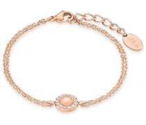 Armband mit Swarovski Kristallen rosegold