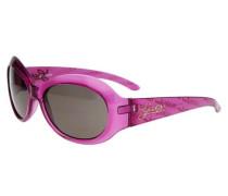 Sonnenbrille Violett lila / pink