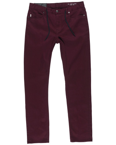 'e02 Color' Jeans bordeaux