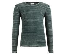Pullover 'paolo' grün / dunkelgrün