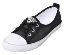 'Ballet Lace' Sneaker schwarz / weiß