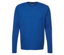 Langarmshirt 'Organic cotton cn tee ls' blau