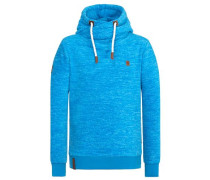 Male Hoody Was Marxloh IV blau