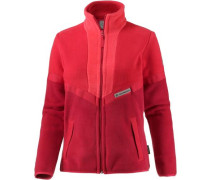 Sunset Fleecejacke Damen rot