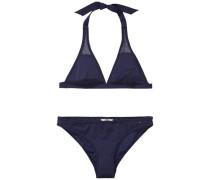 Bikini 'Solid mixing bikini 3' navy