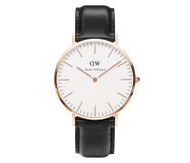Uhr 'Classic Collection Sheffield' gold / schwarz
