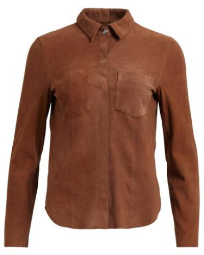 Wildleder-Hemd 'vista Soft Suede Shirt' cognac