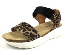 Sandalen schoko / beige / braun