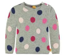 Pullover Mädchen Baby Kinder dunkelblau / grau / pink / rosa