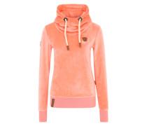Pullover mit Stehkragen rosa