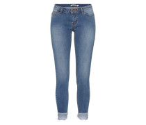 Skinny Fit Jeans Eve LW Ankle blau