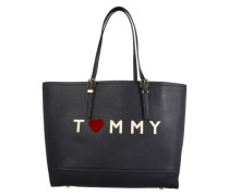 Tote-Bag 'Love Tommy' navy