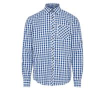 Hemd 'Laurin' blau / weiß