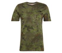 T-Shirt 'Simple Dom' dunkelgrün