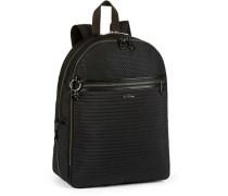 'Twist Deeda KT' Rucksack 40 cm Laptopfach schwarz