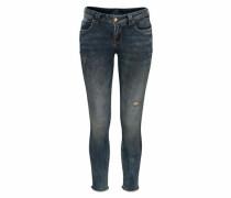 Skinny-fit-Jeans 'ria' dunkelblau