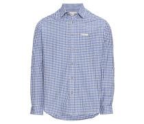 Hemd 'Campos3' blau / weiß